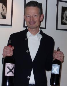 Moritz Rogosky presente ses cuvée ; Il Caberlot et Carnasciale (100% Caberlot)