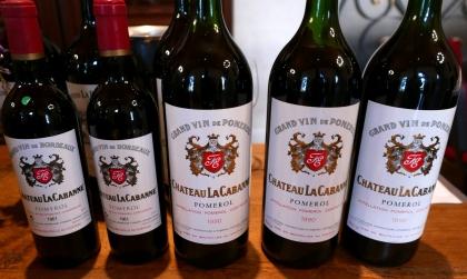 Tout récemment François a sorti de sa cave les magnums 1990 et les bouteilles 1961, vins toujours incroyablement jeunes