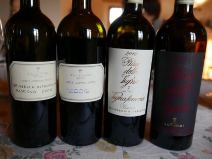 Collection Brunello Pian delle Vigne, Antinori