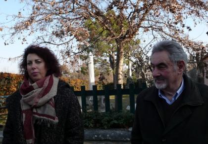 Chez Ferrari on travaille en famille, Cristina avec son père et le frère Carlo règnent sur 10 ha à San'Ambrogio